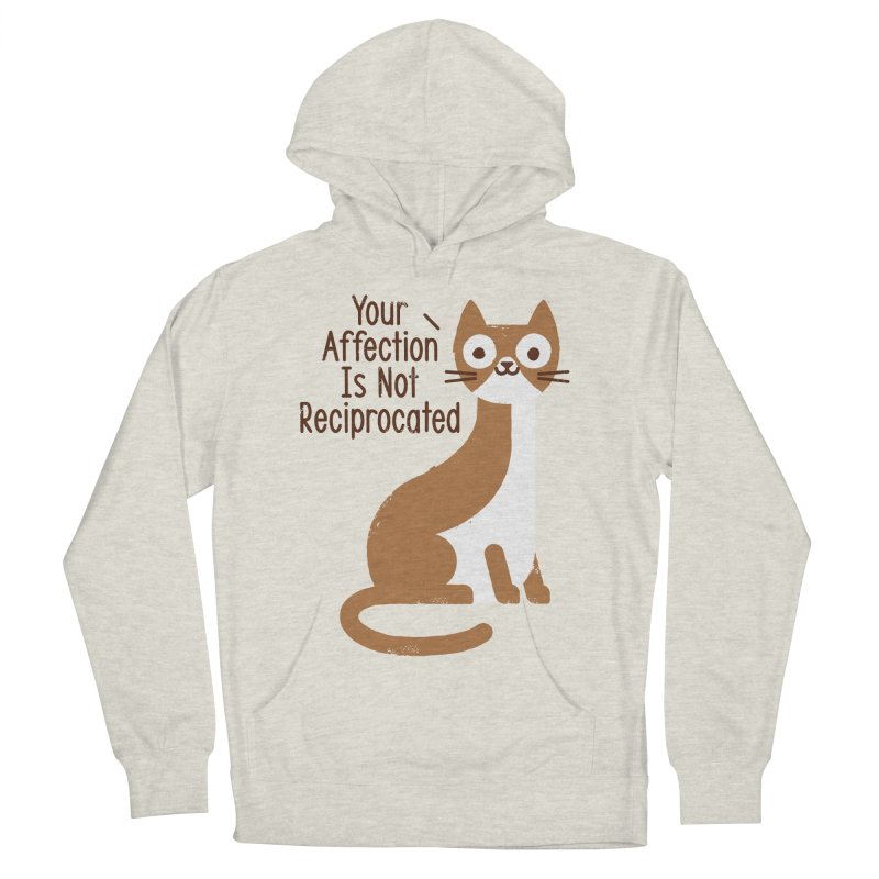 Right Back Cat You Men's French Terry Pullover Hoody by David Olenick