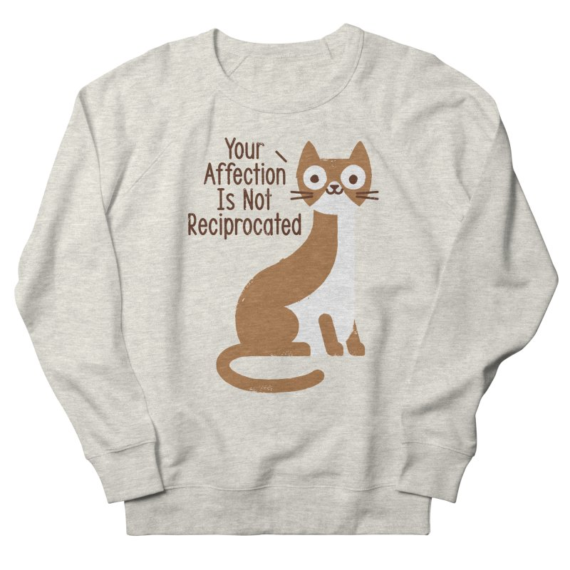 Right Back Cat You Men's French Terry Sweatshirt by David Olenick