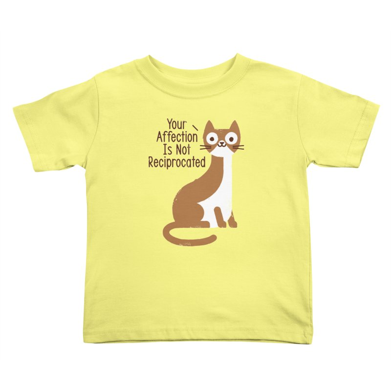 Right Back Cat You Kids Toddler T-Shirt by David Olenick