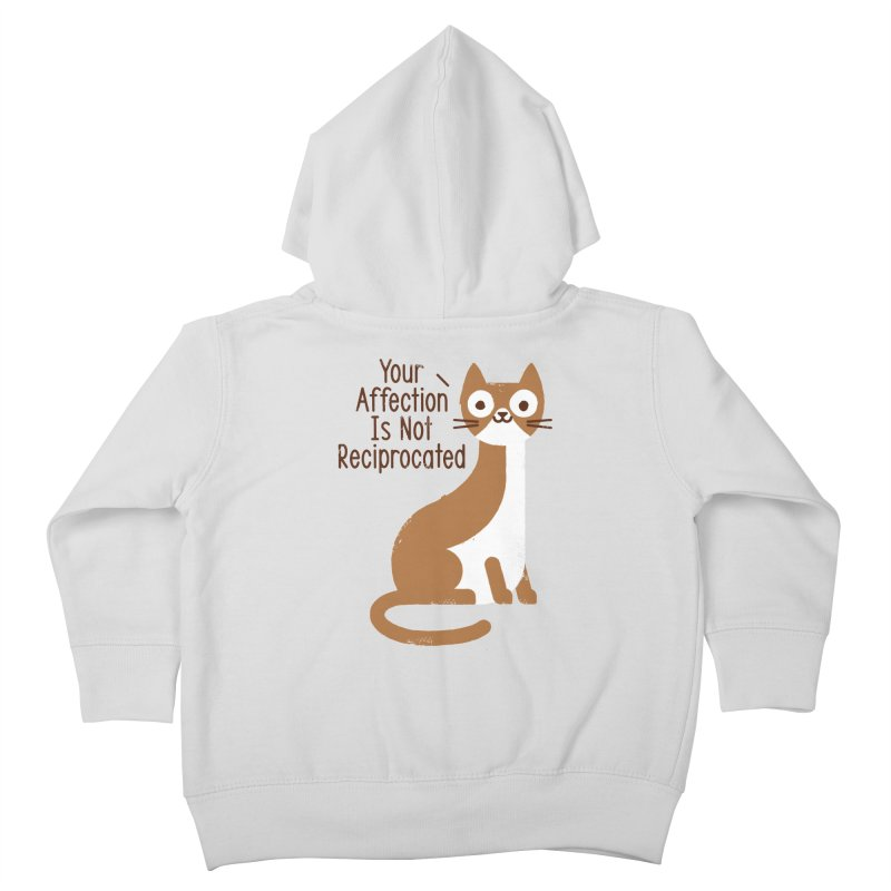 Right Back Cat You Kids Toddler Zip-Up Hoody by David Olenick