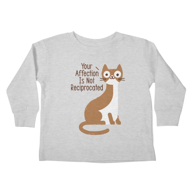 Right Back Cat You Kids Toddler Longsleeve T-Shirt by David Olenick