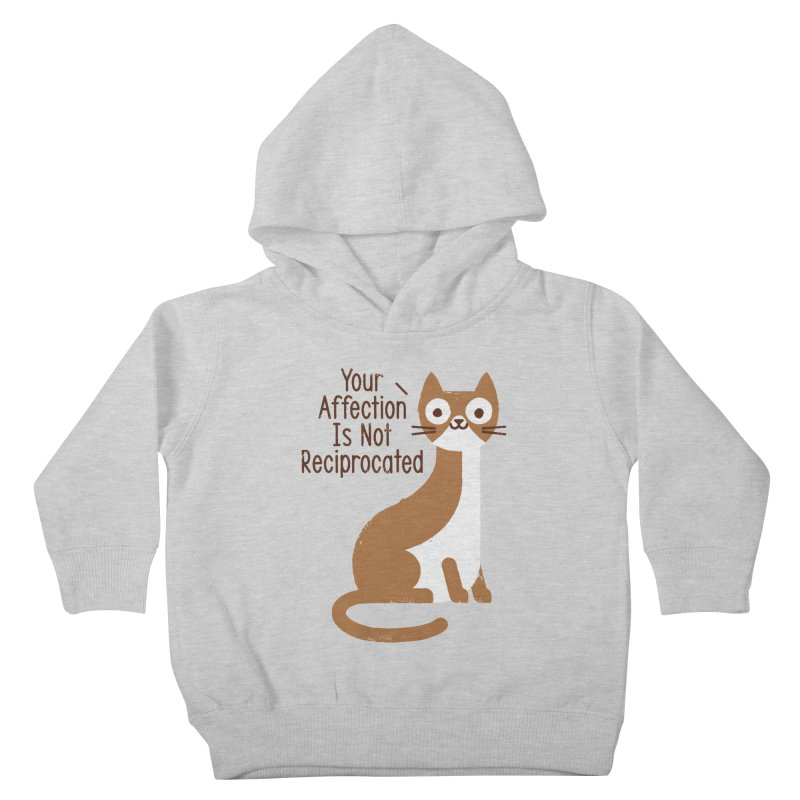 Right Back Cat You Kids Toddler Pullover Hoody by David Olenick