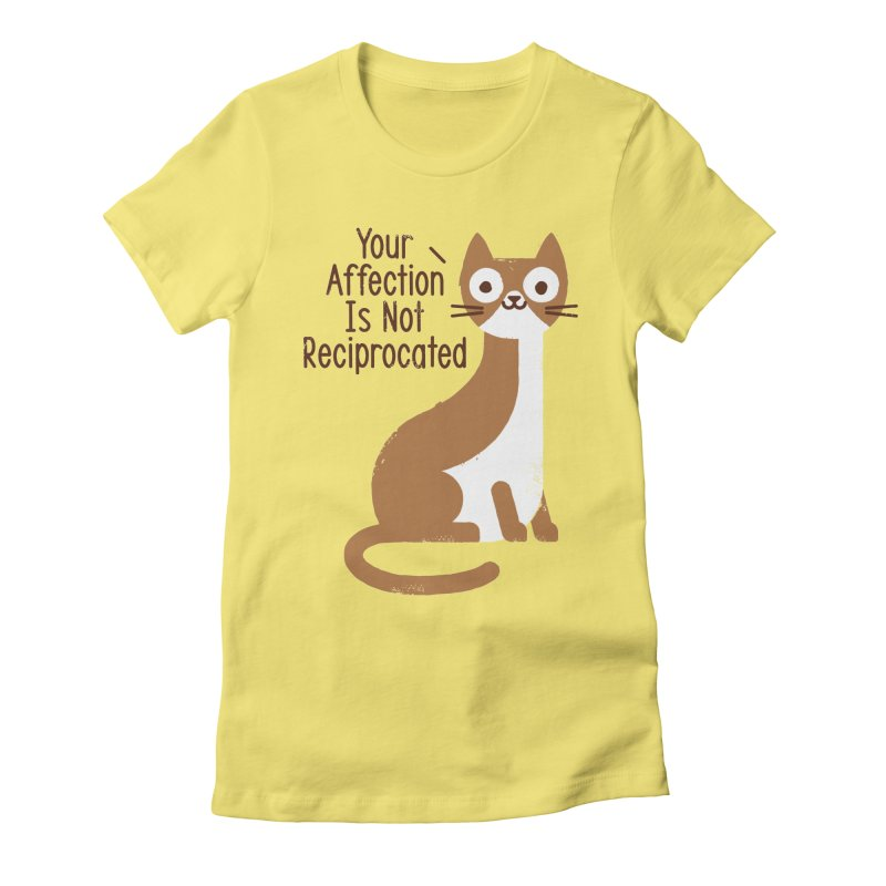 Right Back Cat You Women's Fitted T-Shirt by David Olenick