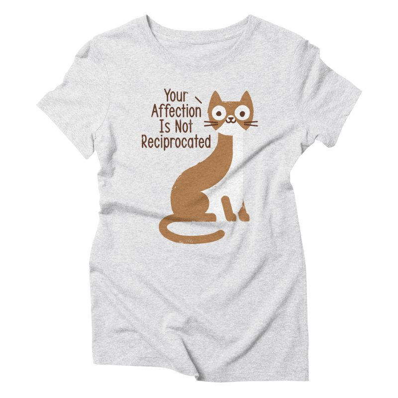 Right Back Cat You Women's Triblend T-Shirt by David Olenick