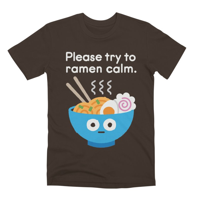 Attention Hotheads Men's Premium T-Shirt by David Olenick