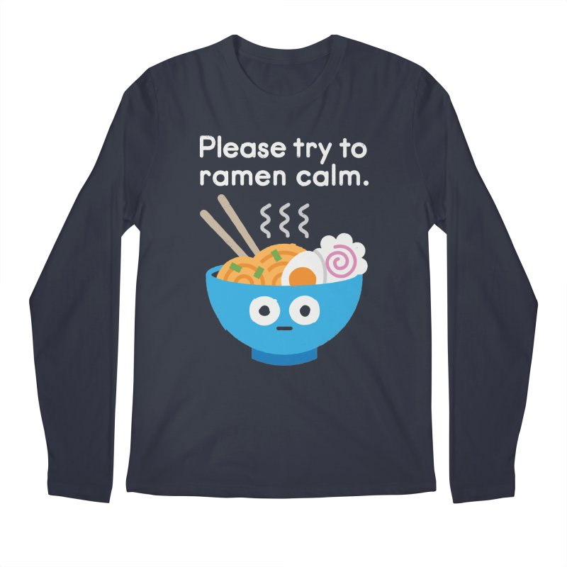 Attention Hotheads Men's Longsleeve T-Shirt by David Olenick