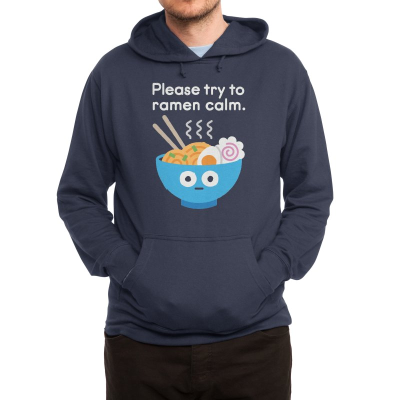 Attention Hotheads Men's Pullover Hoody by David Olenick