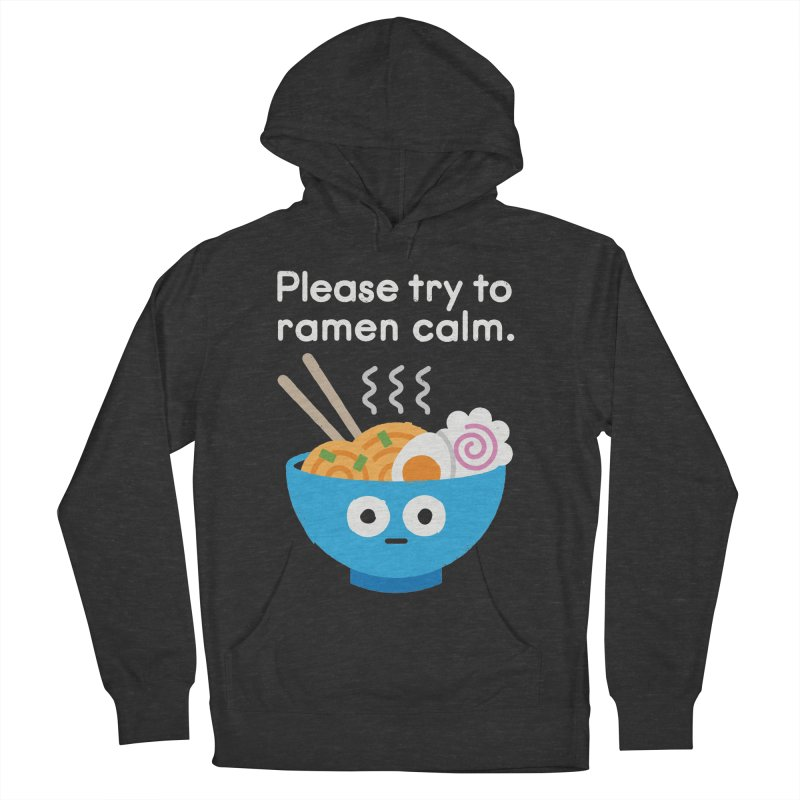 Attention Hotheads Men's French Terry Pullover Hoody by David Olenick