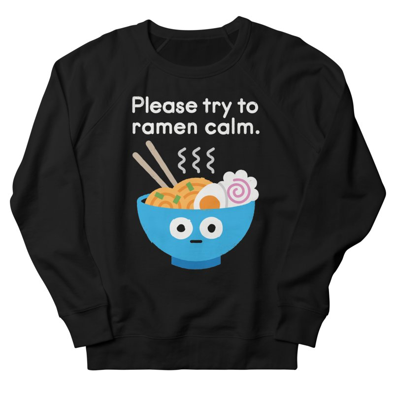 Attention Hotheads Men's French Terry Sweatshirt by David Olenick