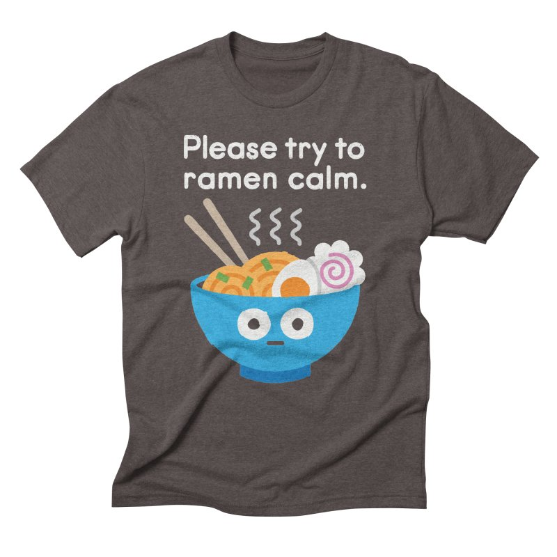 Attention Hotheads Men's Triblend T-Shirt by David Olenick