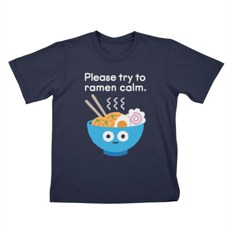 Attention Hotheads Kids T-Shirt by David Olenick