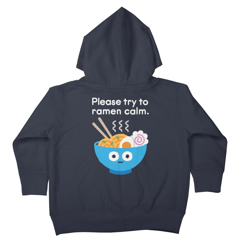 Attention Hotheads Kids Toddler Zip-Up Hoody by David Olenick