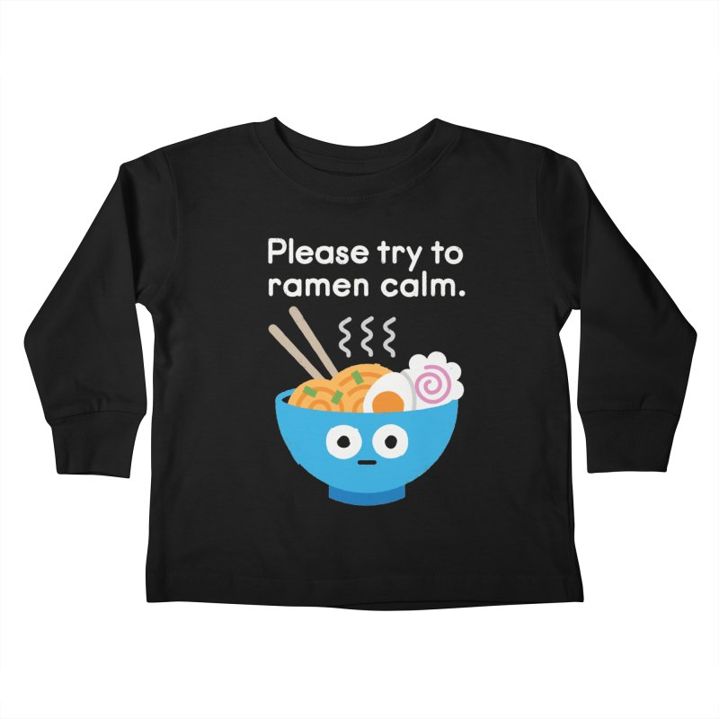 Attention Hotheads Kids Toddler Longsleeve T-Shirt by David Olenick