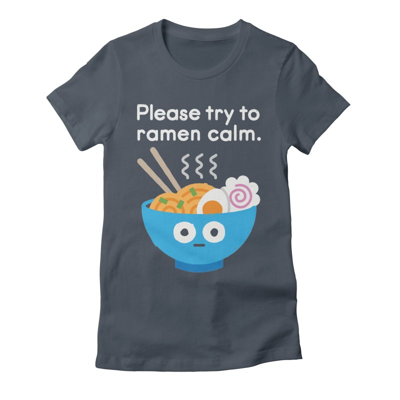 Attention Hotheads Women's Fitted T-Shirt by David Olenick