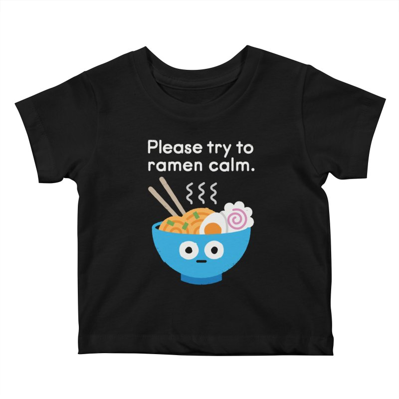 Attention Hotheads Kids Baby T-Shirt by David Olenick