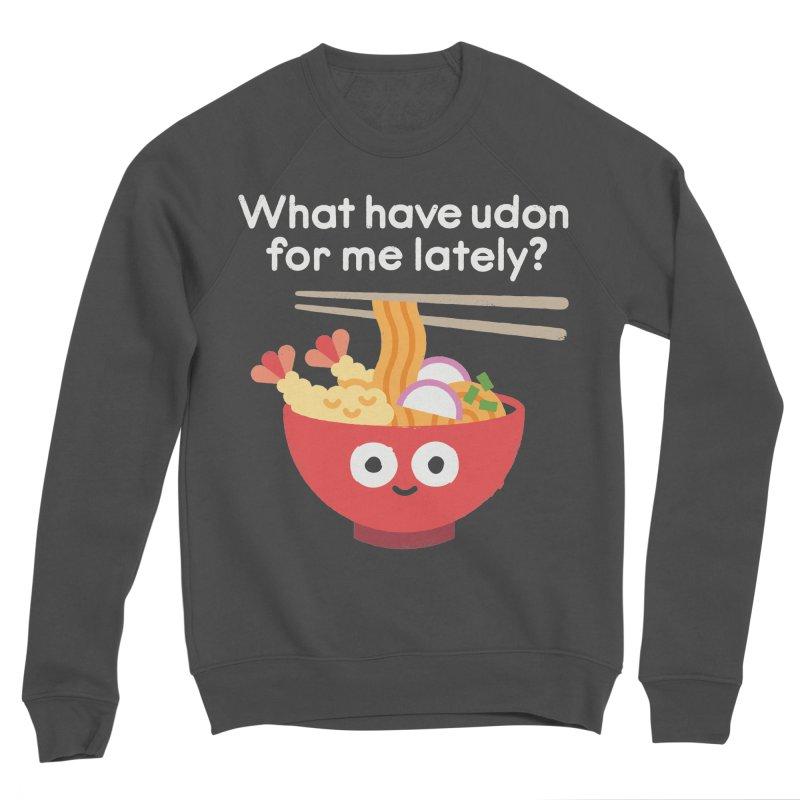 Bringing Something to the Table Men's Sponge Fleece Sweatshirt by David Olenick