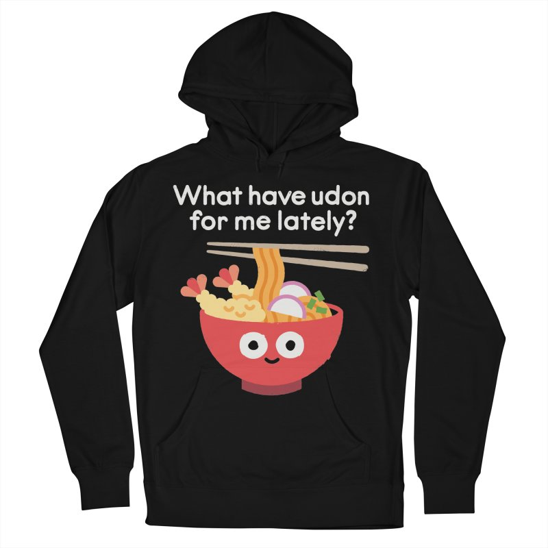Bringing Something to the Table Women's French Terry Pullover Hoody by David Olenick