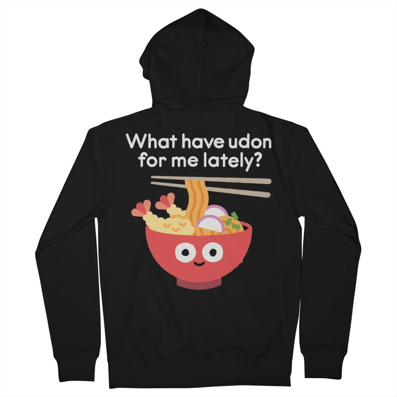 Bringing Something to the Table Men's French Terry Zip-Up Hoody by David Olenick