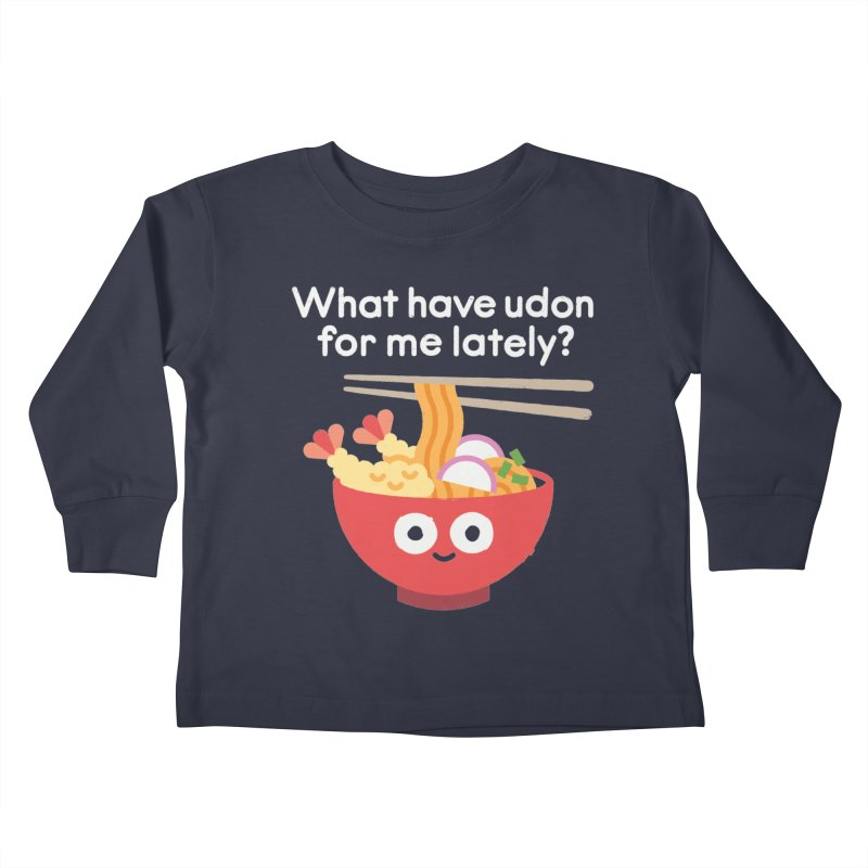 Bringing Something to the Table Kids Toddler Longsleeve T-Shirt by David Olenick