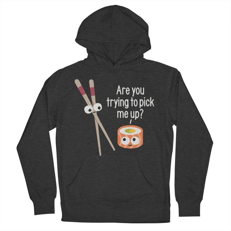 Getting a Grasp of the Situation Men's French Terry Pullover Hoody by David Olenick
