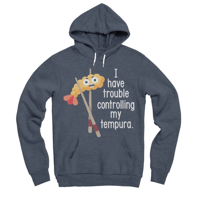 Losing It Men's Sponge Fleece Pullover Hoody by David Olenick
