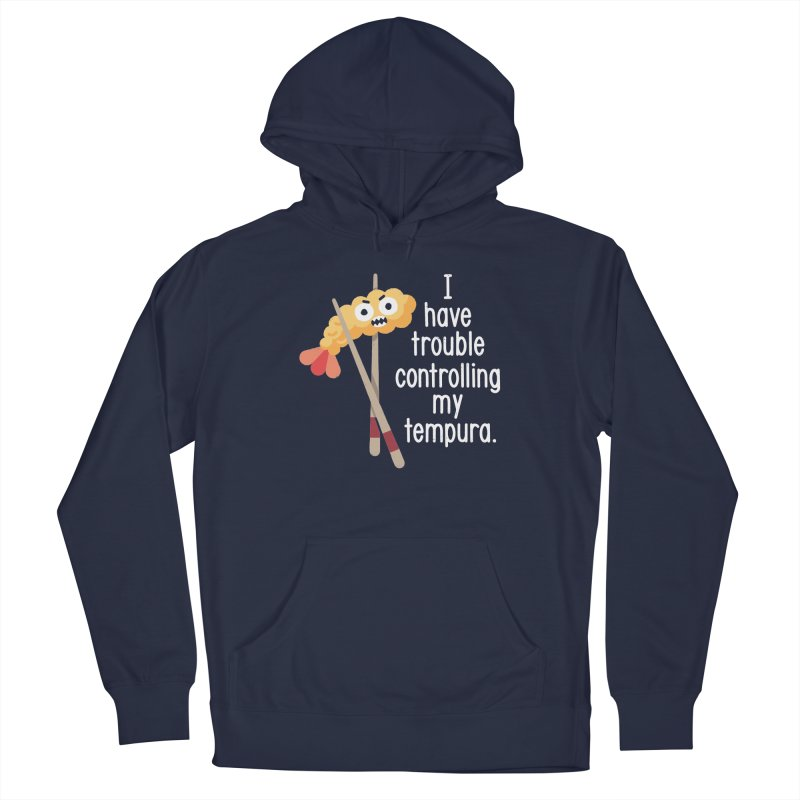 Losing It Men's French Terry Pullover Hoody by David Olenick