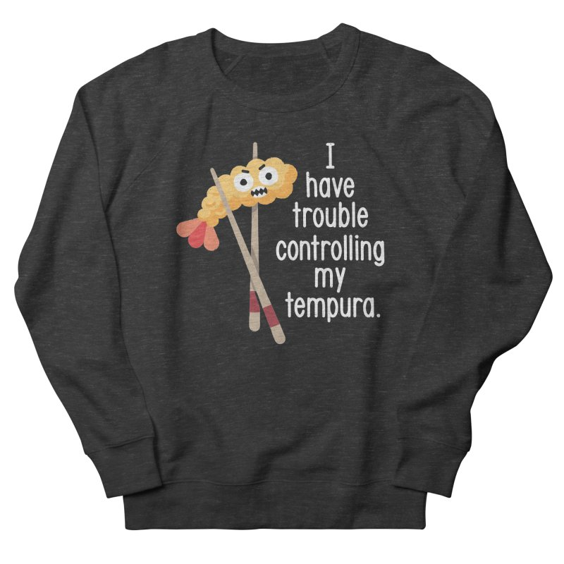 Losing It Women's French Terry Sweatshirt by David Olenick