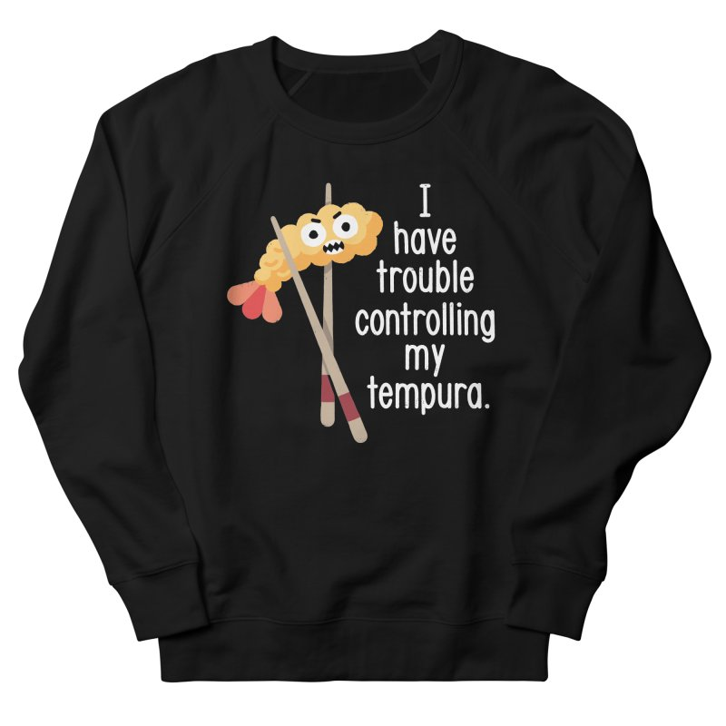 Losing It Men's French Terry Sweatshirt by David Olenick
