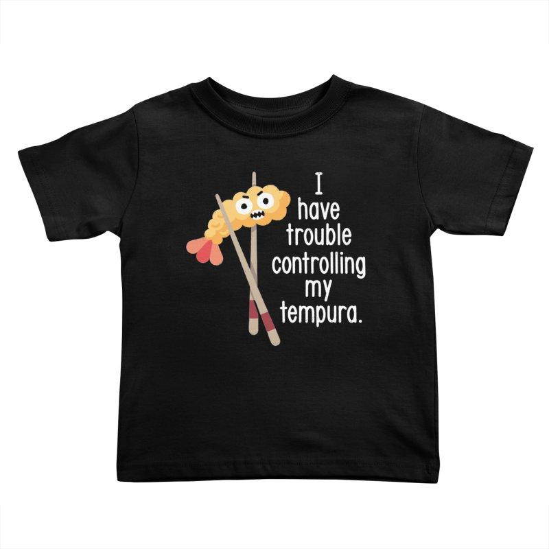 Losing It Kids Toddler T-Shirt by David Olenick