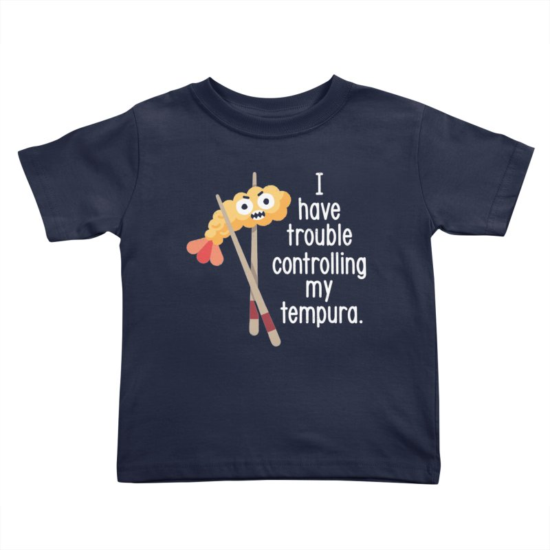 Losing It Kids Toddler T-Shirt by David Olenick