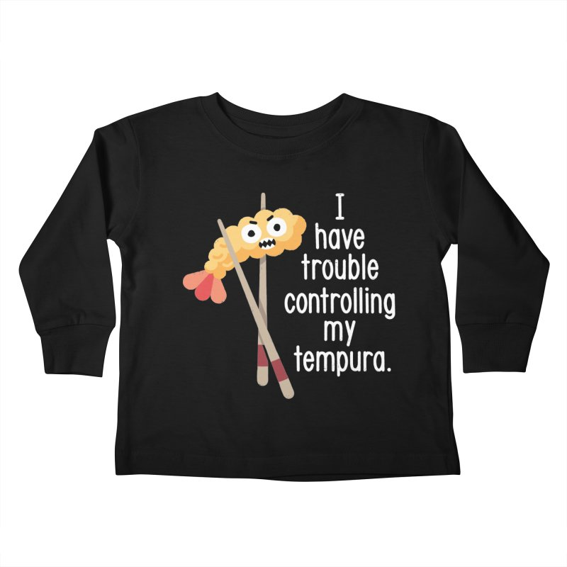 Losing It Kids Toddler Longsleeve T-Shirt by David Olenick