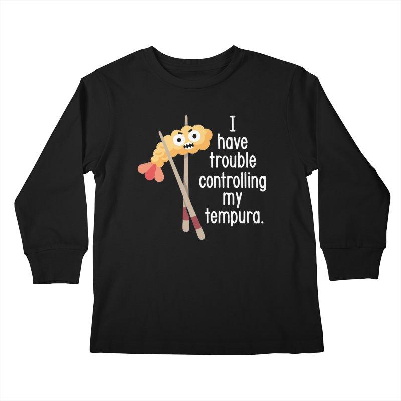 Losing It Kids Longsleeve T-Shirt by David Olenick