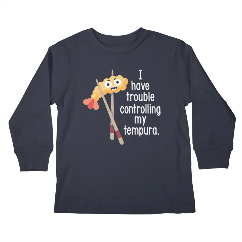 Losing It Kids Longsleeve T-Shirt by David Olenick