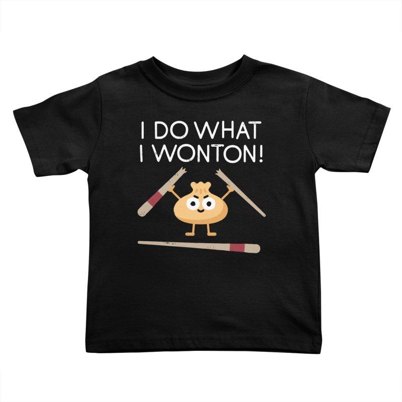Dumplings Are Revolting Kids Toddler T-Shirt by David Olenick