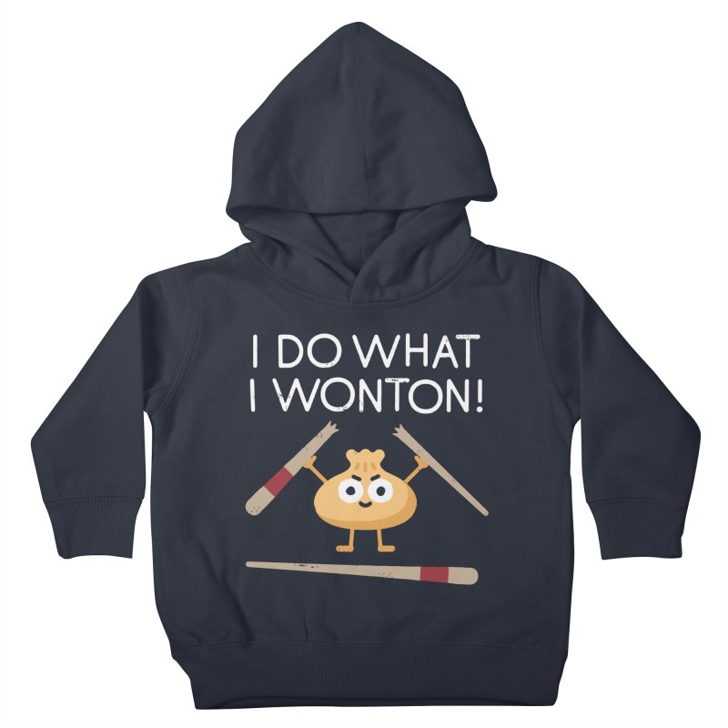 Dumplings Are Revolting Kids Toddler Pullover Hoody by David Olenick
