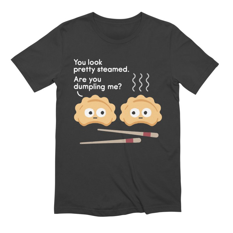 You Can't Hide Your Fillings Men's Extra Soft T-Shirt by David Olenick