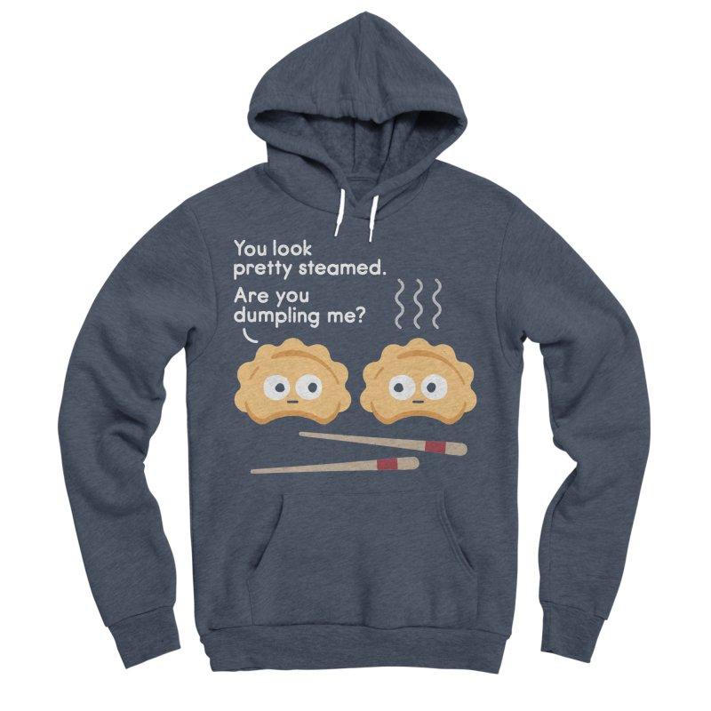 You Can't Hide Your Fillings Men's Sponge Fleece Pullover Hoody by David Olenick