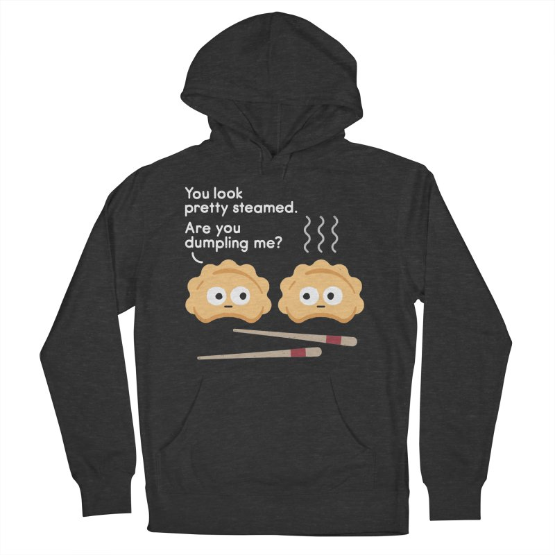 You Can't Hide Your Fillings Men's French Terry Pullover Hoody by David Olenick