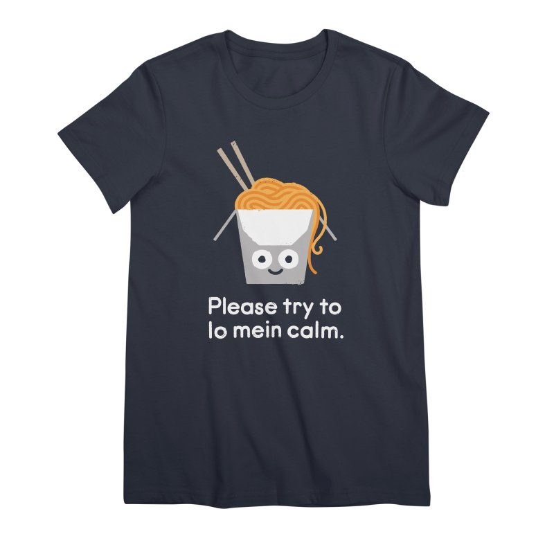 Breathe In, Take-out Women's Premium T-Shirt by David Olenick