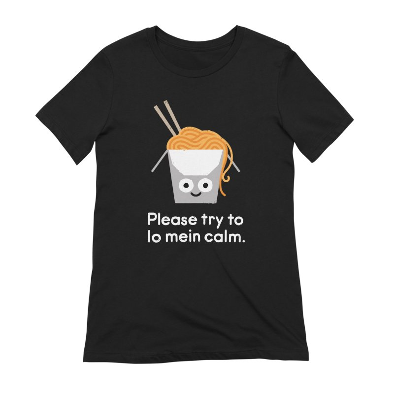 Breathe In, Take-out Women's Extra Soft T-Shirt by David Olenick