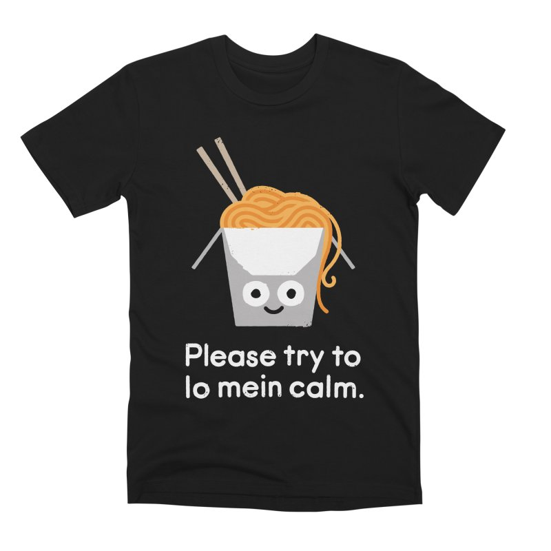 Breathe In, Take-out Men's Premium T-Shirt by David Olenick