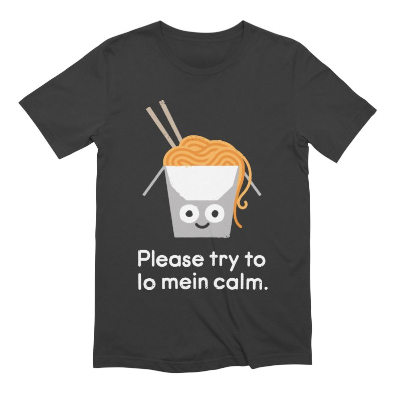 Breathe In, Take-out Men's T-Shirt by David Olenick