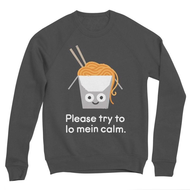 Breathe In, Take-out Men's Sponge Fleece Sweatshirt by David Olenick