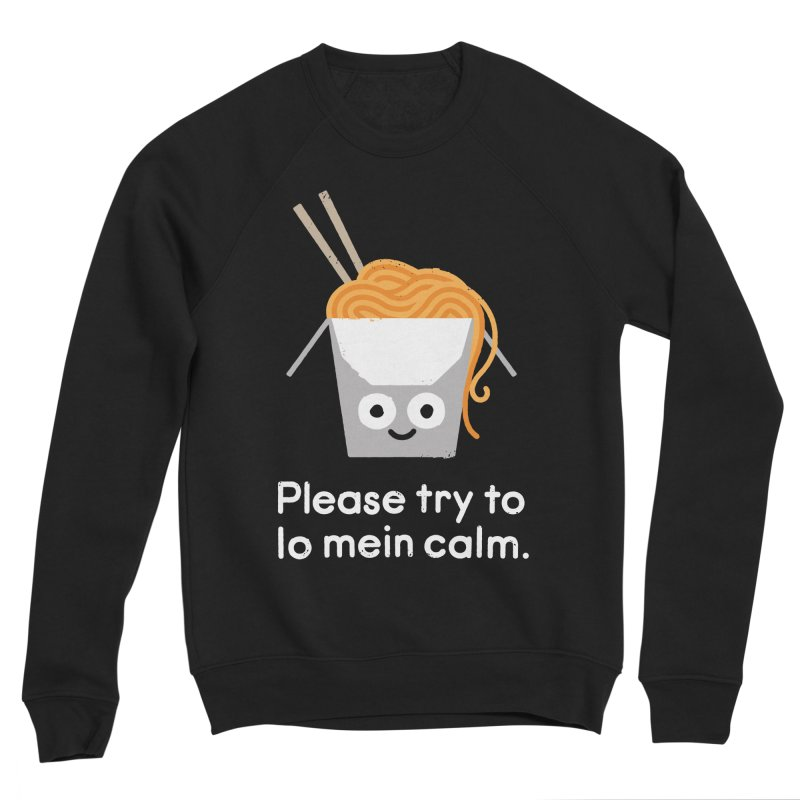 Breathe In, Take-out Men's Sweatshirt by David Olenick