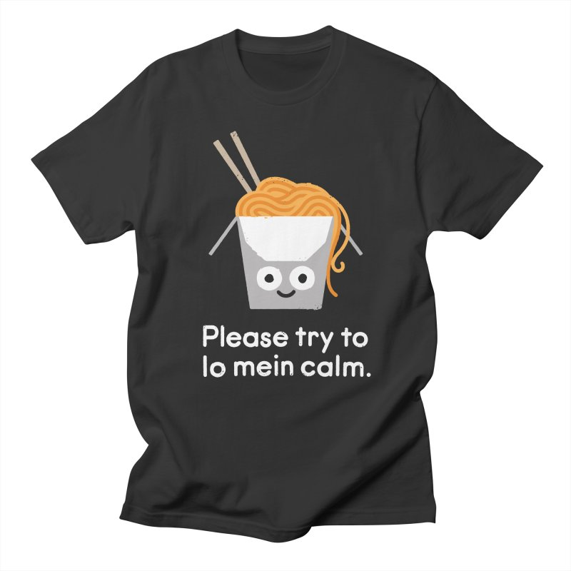Breathe In, Take-out Women's Regular Unisex T-Shirt by David Olenick