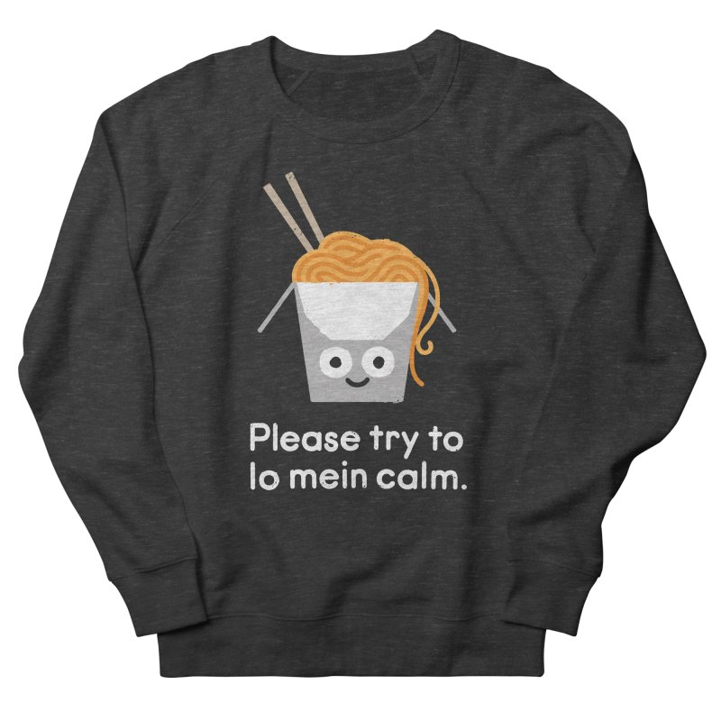 Breathe In, Take-out Women's French Terry Sweatshirt by David Olenick