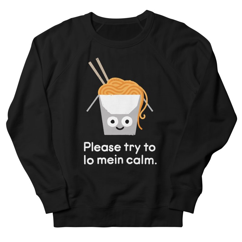 Breathe In, Take-out Men's French Terry Sweatshirt by David Olenick