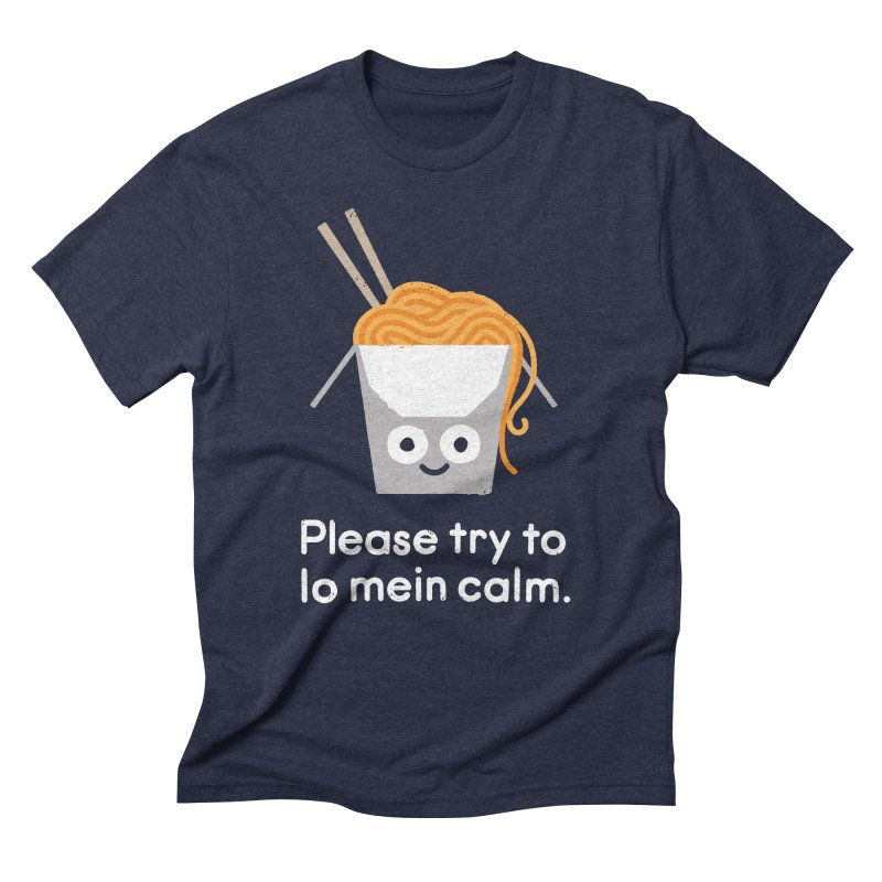 Breathe In, Take-out Men's Triblend T-Shirt by David Olenick