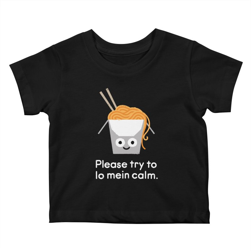 Breathe In, Take-out Kids Baby T-Shirt by David Olenick