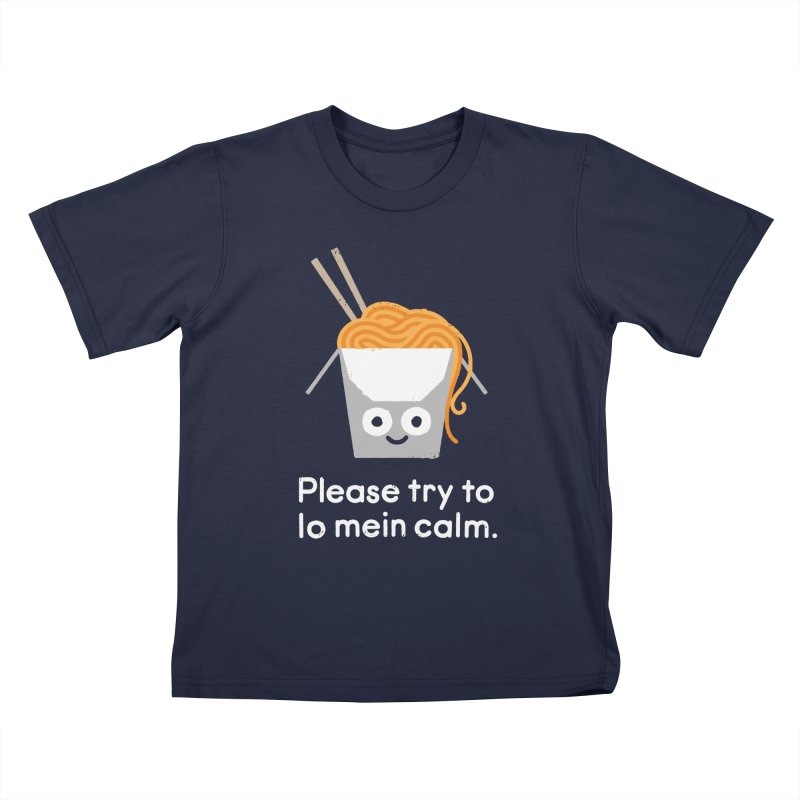Breathe In, Take-out Kids T-Shirt by David Olenick